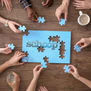 Collaboration - doing Schoop jigsaw together